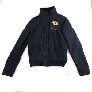 Hollister Cabrillo Sherpa Lined Coat Jacket